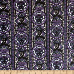 Camelot Marvel Heroes Black Panther Mosaic Purple