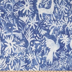 Lacefield Designs Otomi Cobalt Fabric