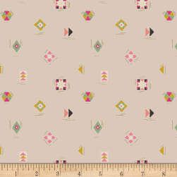 Art Gallery Nuncia Let's Sew Something Cream Fabric