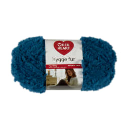 Red Heart Hygge Fur Peacock