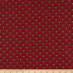 STOF France 63'' Doucet Rouge Fabric