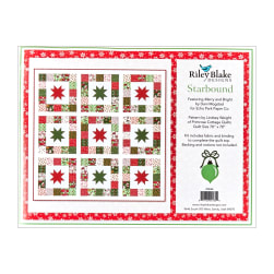 Riley Blake Starbound Quilt Kit in Merry and
