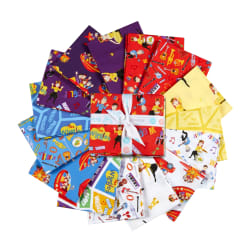 Riley Blake Wiggles Fat Quarter Bundle, 15 Pcs