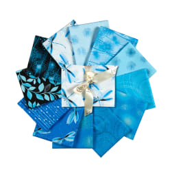 Kanvas Pearl Reflections Fat Quarter Bundle Peacock 12
