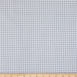Kanvas Better Basics Deluxe Cotton Tiny Houndstooth White/Grey