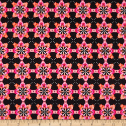 Benartex Blooming Beauty Majestic Medallions Coral/Pink Fabric