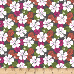 Michael Miller Born To Be Wild Blooming Wild Earth Fabric