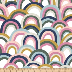 Paintbrush Studios Over the Rainbow Pastel Multi Fabric