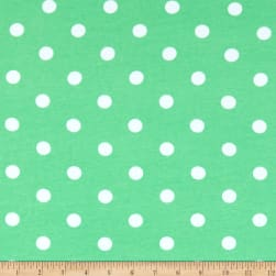 Fabric Merchants Cotton Spandex Jersey Knit Polka Dot