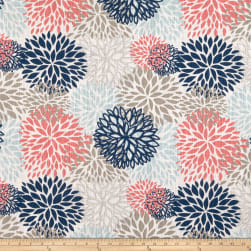 Premier Prints Blooms Slub Canvas Shore Life