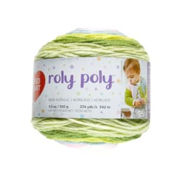 Red Heart Roly Poly Yarn Happy