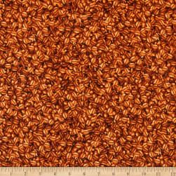 Timeless Treasures Fresh Brew Coffee Beans Brown Fabric