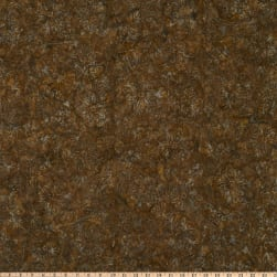 Timeless Treasures Tonga Batik Gunpowder Holiday Brown Fabric