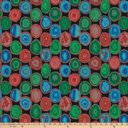 Kaffe Fassett Collective for FreeSpirit Geodes Black
