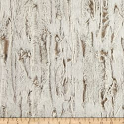 Shannon Minky Luxe Cuddle Whistler Almond Fabric