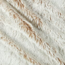 Shannon Minky Luxe Cuddle Frosted Shaggy Sand