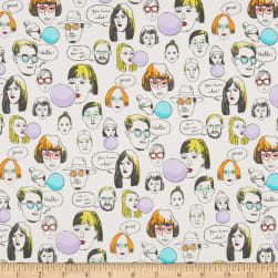 Cosmo More Talking Heads Sheeting White