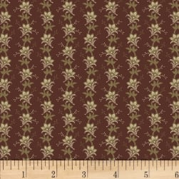 Washington Street Studio Wild Flower Small Stripe Brown