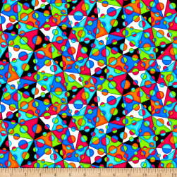 QT Fabrics Digital Jubilee Geometric Multi