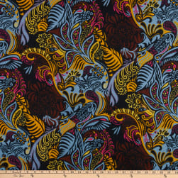 Shawn Pahwa African Print Menzi Black/Yellow Fabric