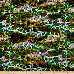 Shawn Pahwa African Print Kufika Green/Black Fabric