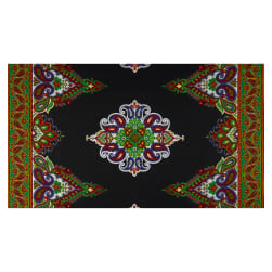 Shawn Pahwa African Print Siza Black/Green Fabric