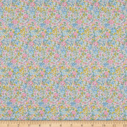 Liberty Fabrics Tana Lawn Emma and Georgina Yellow/Mutli