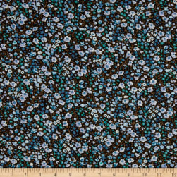 Liberty Fabrics Augusta Linen Phoebe and Jo Black/Multi