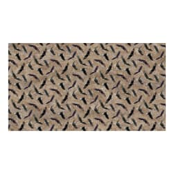 Northcott On Freedom's Wings Eagle Toss Stone Beige