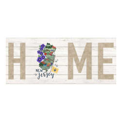 Northcott My Home State New Jersey 18'' Panel White/Multi Fabric