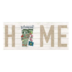 Northcott My Home State Vermont 18'' Panel White/Multi Fabric