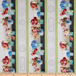 Wilmington Flower Market Repeating Stripe Multi