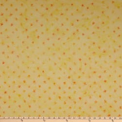 Anthology Batik Queen Bee Tiny Flowers Sunset