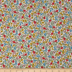 Liberty Fabrics Tana Lawn Emilia's Bloom Yellow/Multi