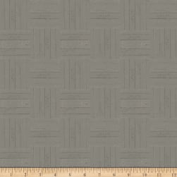 Clothworks Winter Playground Tonal Pewter Fabric