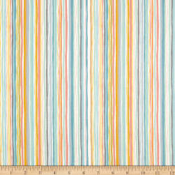 Andover/Makower UK Cool Cats Wavy Stripe Multi