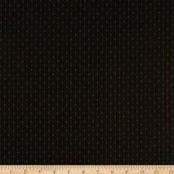 Andover Cast Iron Book Stripe Black Fabric