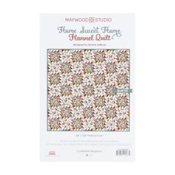Maywood Studio Kit Home Sweet Home Flannel Quilt