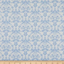 Laura Ashley The Girls Nordic Floral Heart Blue