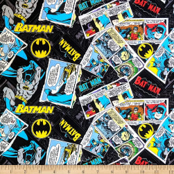 Batman 80 Anniversary Collage Black