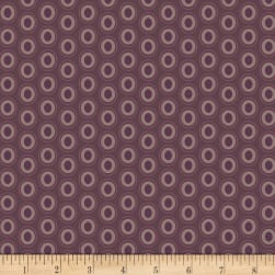 Art Gallery Oval Elements Prune Brown