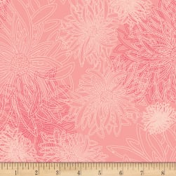 Art Gallery Floral Elements Blush Fabric