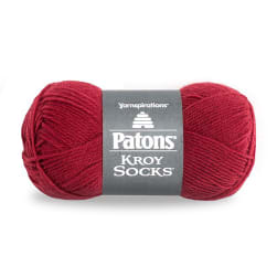 Patons Kroy Socks Yarn, Red