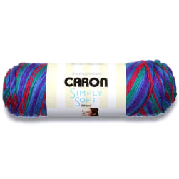Caron Simply Soft Stripes Yarn, Jersey Shore