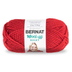 Bernat Wool-Up Bulky Yarn, Red