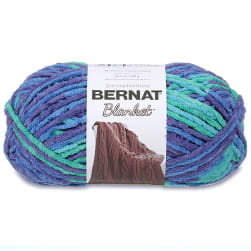 Bernat Blanket Yarn (300g/10.5 oz) Ocean Shades
