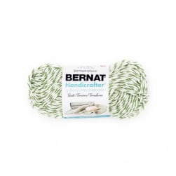 Bernat Handicrafter Cotton Twists Yarn Green Twists