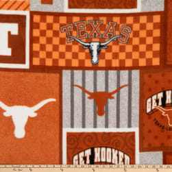 NCAA Texas Longhorns College Patch Fleece