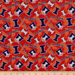 NCAA Illinois Fighting Illini Tone on Tone Cotton