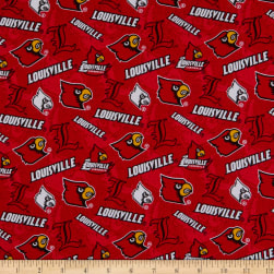 NCAA Louisville Cardinals Tone on Tone Cotton